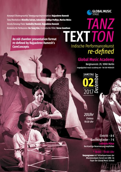 Tanz Text Ton Performance