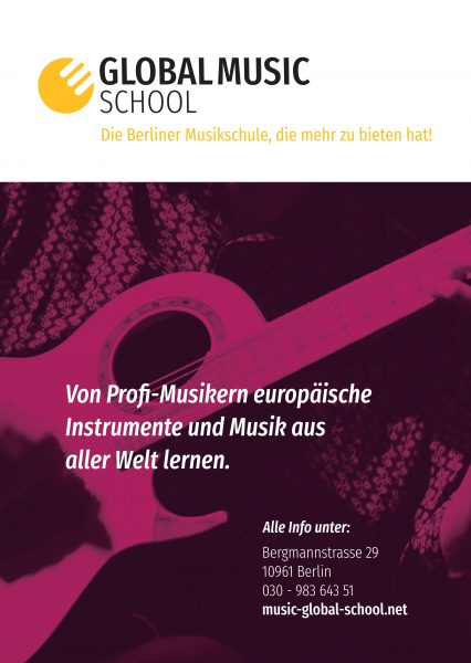 Global Music School Flyer