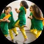 Tänzerische Früherziehung / Indisches Theater