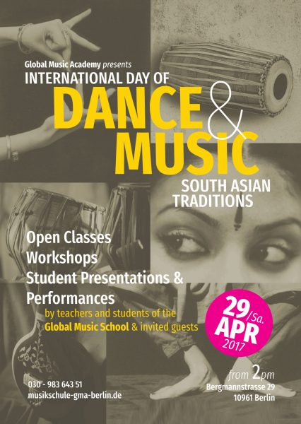 International Day of Dance & Music Workshop