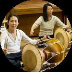 Koreanische Perkussion