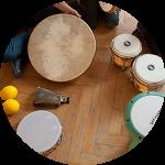Musikalische Früherziehung – Perkussion –